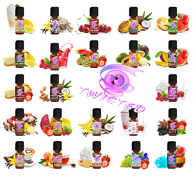 Twisted Vaping - Twisted Mixed Aroma 10ml Aromen E Liquid RIESEN AUSWAHL!!!