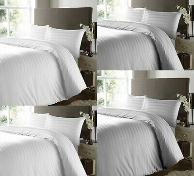 Luxury 400Tc Duvet Cover 100% Egyptian Cotton Bedding Set Double Super King Size