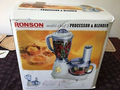 Ronson Multi Chef 2 - Food Processor and Blender