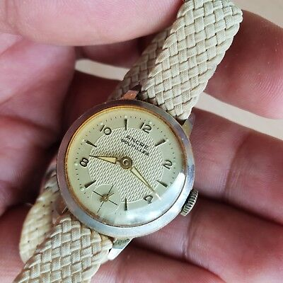 49# Old Vintage Antique ANCRE GOUPILLES Women Watch