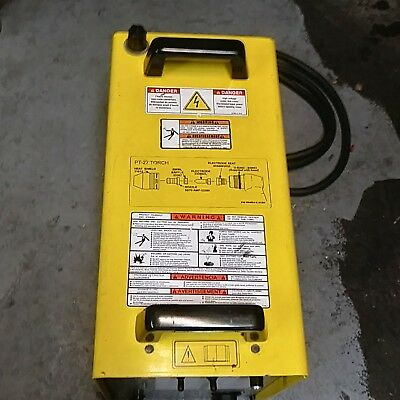 PCM-875 Plasma Cutter ESAB w/ Torch Accessories 400/460 Volt 3 Phase Tested