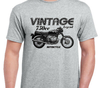 BMW R75/7 inspired vintage motorcycle classic bike shirt tshirt
