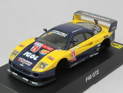 8855 Kyosho 1/64 Ferrari Racing Vol.2 F40 GTE #53 Not assembled Tracking Number