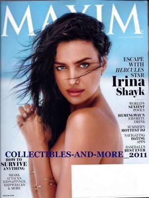 Irina Shayk Hercules Maxim Magazine July August 2014 🔥