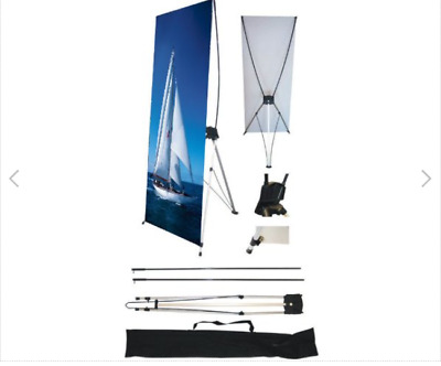 """3 Wall26 24"""" x 63"""" X Banner Stand For Trade Show/Store Display 1PCS New in bag"""