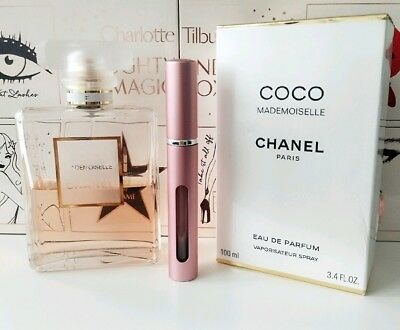 Chanel Coco Mademoiselle Edp In Refillable Perfume Travel Spray 5Ml