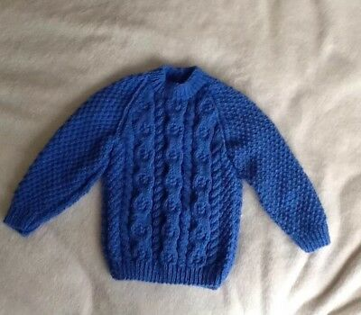 Baby Boys Hand Knitted Jumpers