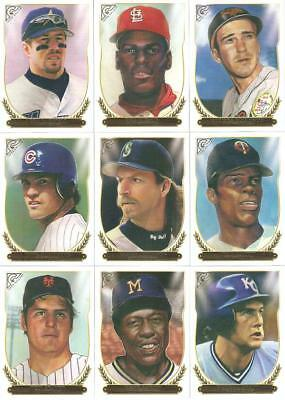 2018 Topps Gallery Hall Of Fame Gallery Retail Inserts ***you Pick***