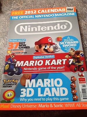 Official Nintendo magazine issue 76 Christmas 2011 new