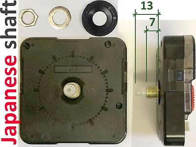 Quartz clock movement, Long DeLi 6188S, Japanese shaft 13mm, silent, sweep,UK