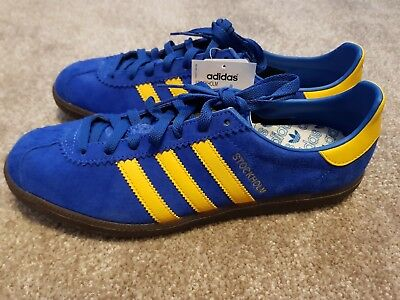 20f7381818c6b1 Adidas Originals Stockholm trainers UK size 9.5 brand new in box with tags
