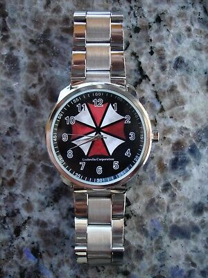 Resident Evil Umbrella Corporation Armbanduhr Watch Neu / Ovp