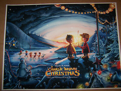 A CHARLIE BROWN CHRISTMAS by JEREMY PAILLER (18 x 24) Giclee (Rare)