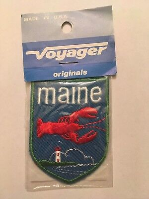 Vintage Voyager State of Maine Patch NIP