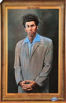 209691 THE KRAMER SELF PORTRAIT SEINFELD Decor Wall PRINT AU