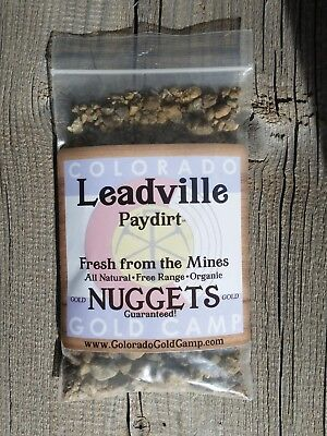 LEADVILLE PAYDIRT COLORADO GOLD *The REAL DEAL*  USEARCHED