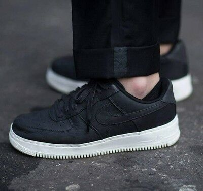 newest collection cb138 7ddd4 New NikeLab Nike AF1 Air Force 1 Low White Black Real Leather Trainers Men  UK 13