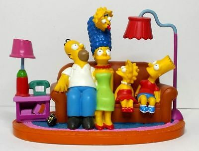 The Simpsons Couch Classic Couch Gags Sculpture Figurine Hamilton Statue 2003