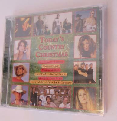 Today's Country Christmas CD Evans ALABAMA Paisley McBride New Sealed
