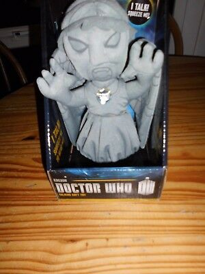 """Doctor Who Electronic Weeping Angel Talking 9"""" Plush BBC"""