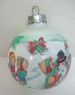 Betsey Clark Hallmark ornament 1991 Getting favorite Friends together