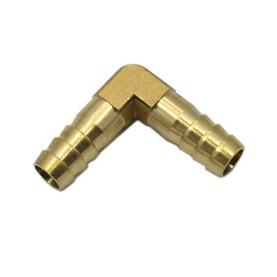 Pipe Fitting Tube Fitting Hose Barb 90 ° Elbow Brass Barbed Gas Fuel Water Hot