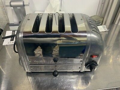 Dualit 4 Slice Toaster Stainless Steel