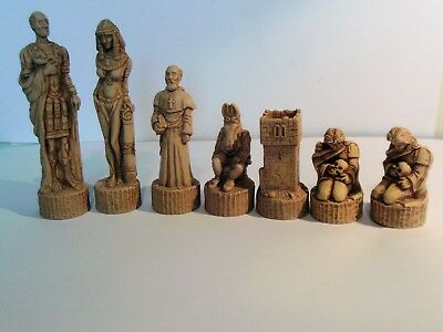 Anthony & Cleopatra chess set latex moulds