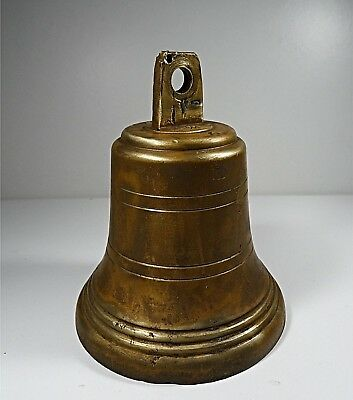 Marine Bronze Bell - Great Sounding - 814 Grams - Nautical / Boat Fully Marked