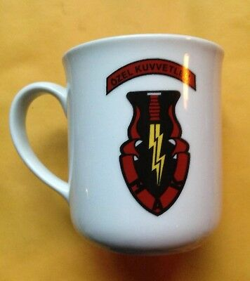 Turkish Special Forces Command Porcelain Coffee Mug, Turkey