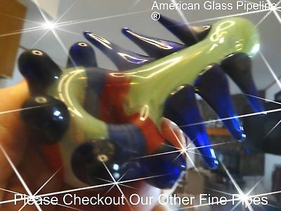 "Space Station 2042* Top Shelf 5 "" Hand Glass Tobacco Smoking Pipe.50% Off Retail"