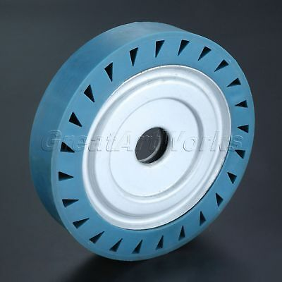 Rubber Wheel Grinding Fine Polishing Burnishing Buffing Cutting Belt Polisher