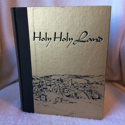 Rare 1969 Holy Holy Land Edited By Charles L. Wallis Photos by Archie Lieberman