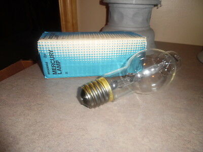 SYLVANIA 100  watt mercury vapor H38HT light bulb  mogul base clear