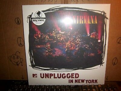 Nirvana Unplugged N.Y. WHITE PALLAS Sealed! MINT Con. Record LP Album Vinyl 402
