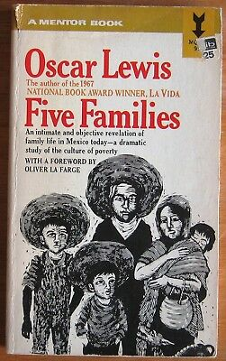 Five Families by Oscar Lewis Mexico Culture of Poverty 1959