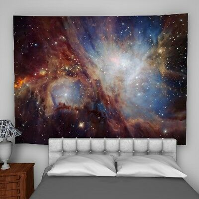Universe Galaxy Wall Hanging Tapestry Psychedelic Bedroom Home Decoration
