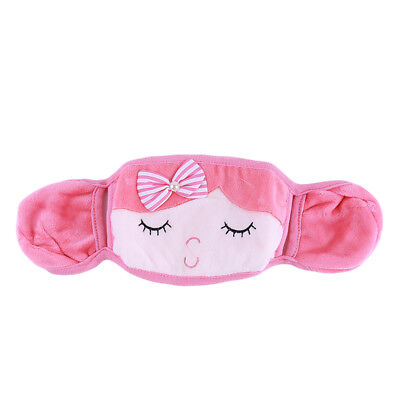 Female Practical Winter Cartoon Dustproof Warm With Protection Ear Masks BS