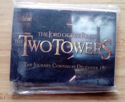 LORD OF THE RINGS - The Two Towers - TOPPS Trading Cards - C1-C20