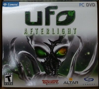 Video Game PC Lot of 12 UFO Afterlight Lot of 12 NEW SEALED Jewel