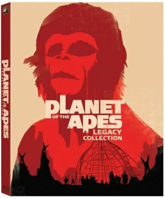 Planet of the Apes: 5-Film Legacy Collection (Blu-ray Disc, 2012, 5-Disc Set)
