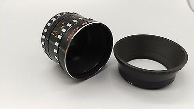Vintage USSR Soviet Era KMZ 2x Movie Camera Zebra Lens for Film Camera KMZ QUARZ