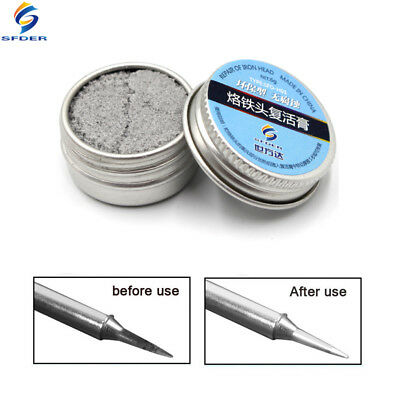 SFD Soldering Iron Lead-Free Tip Refresher Clean Paste for Oxide Solder Iron Tip