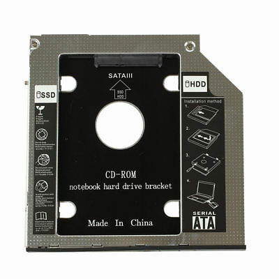 2ND HDD Hard Drive Caddy for DELL Latitude E6400 E6410 Precision M2400 DT Eager