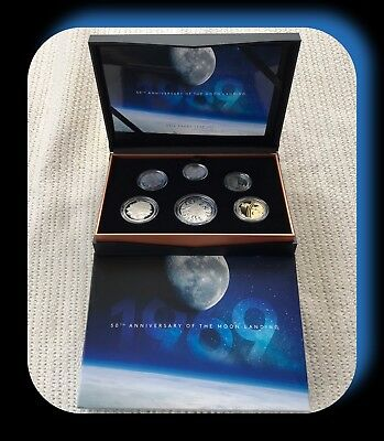 2019 Six Coin Proof Year Set 50th Anniversary of the Moon Landing