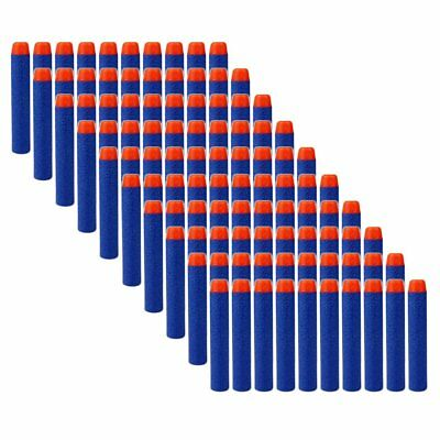 100pcs 7.2cm EVA Foam Darts Bullets for Kids Nerf Guns N-Strike Elite Blasters
