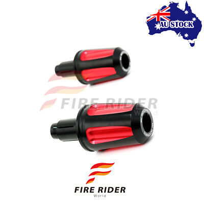 For Ducati Multistrada 1000 1100 S/DS 04-09 Red 1 Pair FAIZ Bar Ends AU