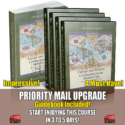 Europe and Western Civilization in the Modern Age DVD New Sealed Great Courses