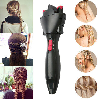 Hair Fast Styling Knotter Smart Electric Braid Machine Twist Curling Iron Tool
