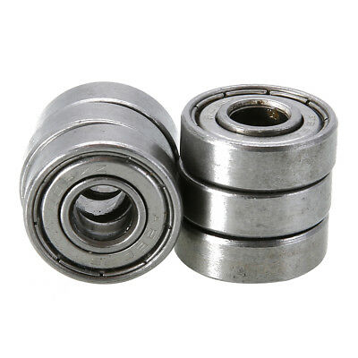 10Pcs Mini 608zz Deep Groove Steel Ball Bearings For Skateboard Roller Blade